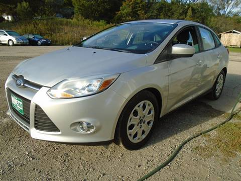 2012 Ford Focus for sale in Leicester, VT