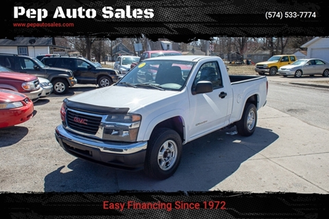 2004 GMC Canyon for sale in Goshen, IN