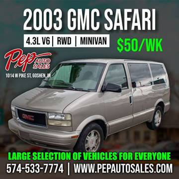 2003 GMC Safari for sale in Goshen, IN