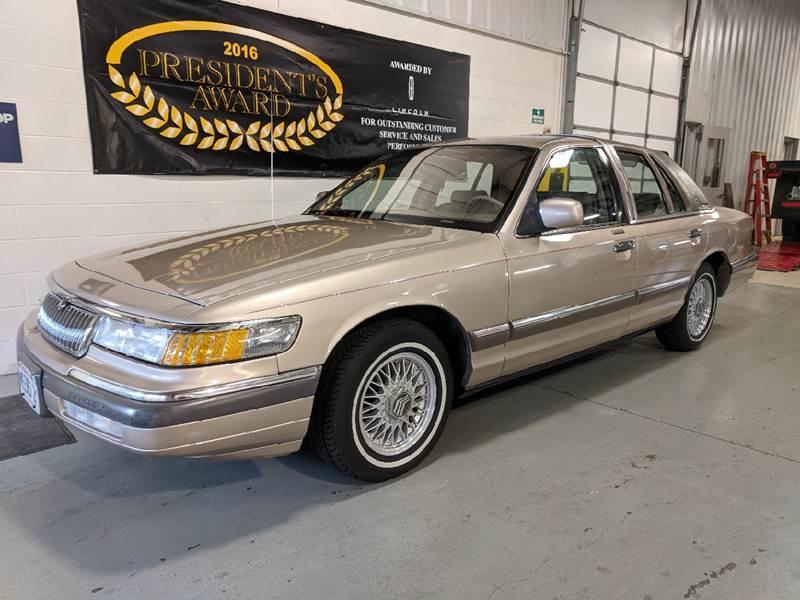 1992 Mercury Grand Marquis Ls 4dr Sedan In Beaver Dam Wi