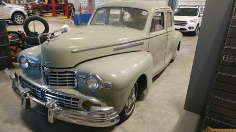 Used 1946 Lincoln Zephyr For Sale Carsforsale Com