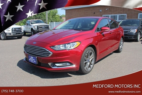 2017 Ford Fusion for sale in Medford, WI