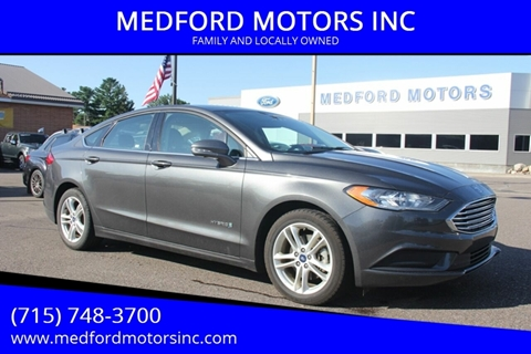 2018 Ford Fusion Hybrid for sale in Medford, WI