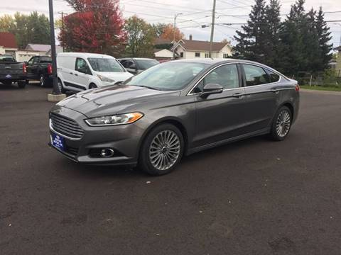 2013 Ford Fusion for sale in Medford, WI