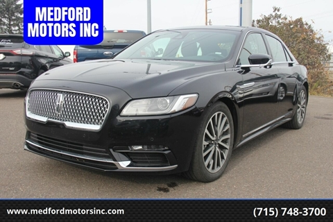 2019 Lincoln Continental for sale in Medford, WI