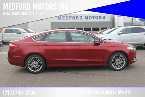 2014 Ford Fusion for sale in Medford, WI