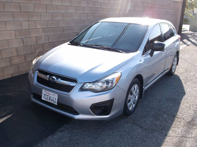 2013 Subaru Impreza for sale at Executive Auto Sales in Costa Mesa CA