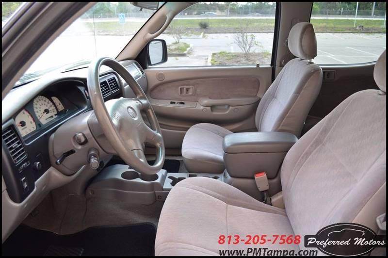 2001 Toyota Tacoma 4dr Double Cab PreRunner V6 2WD SB - Tampa FL