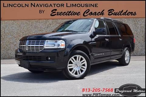 2013 Lincoln Navigator L for sale in Tampa, FL