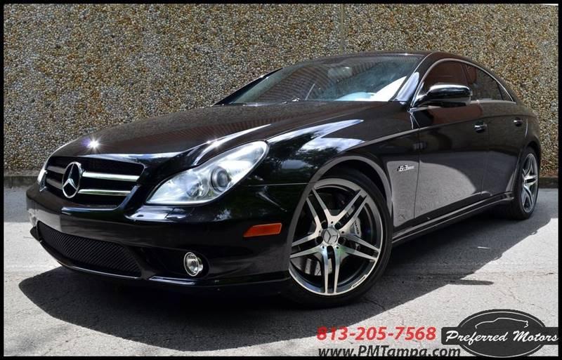 2009 Mercedes Benz Cls Cls 63 Amg 4dr Sedan In Tampa Fl Preferred Motors