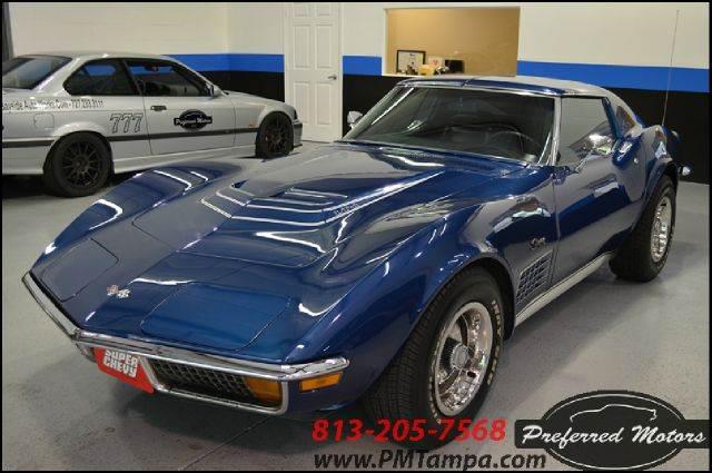 1972 Chevrolet Corvette for sale at PREFERRED MOTORS in Tampa FL