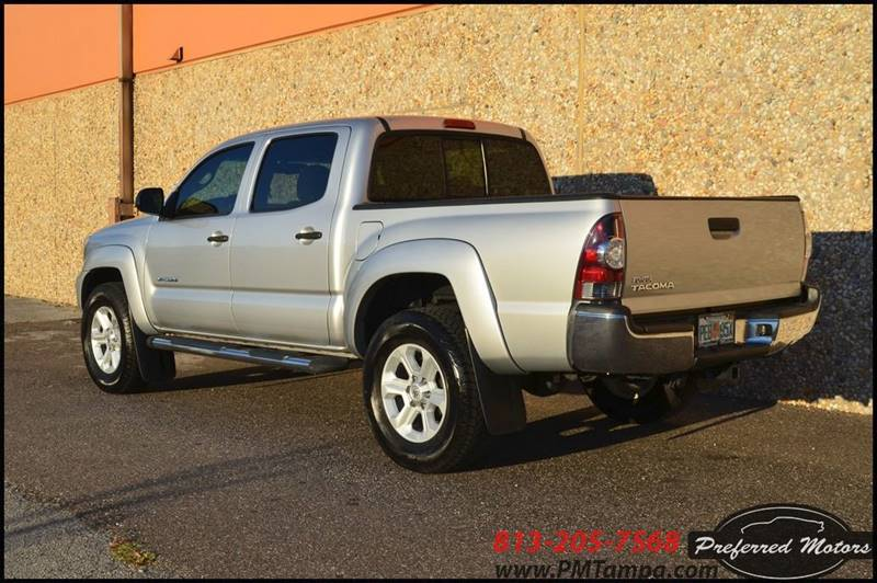 2013 Toyota Tacoma 4x2 PreRunner V6 4dr Double Cab 5.0 ft SB 5A - Tampa FL
