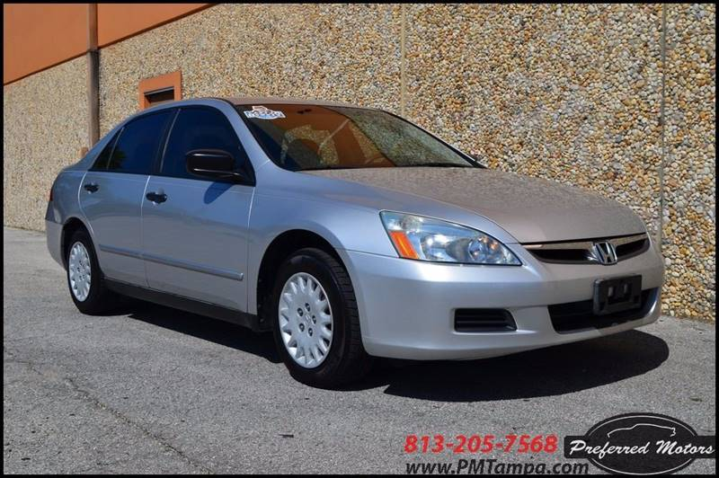 2006 Honda Accord Value Package 4dr Sedan 5M - Tampa FL