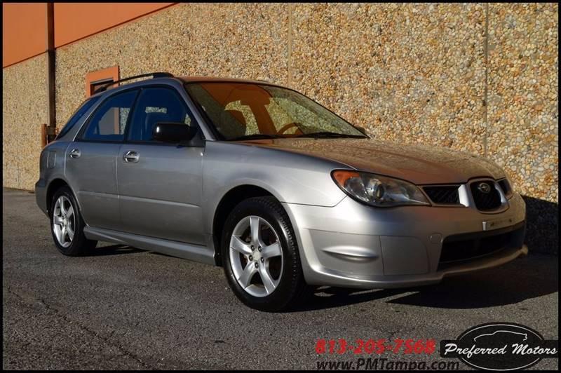 2006 Subaru Impreza AWD 2.5 i 4dr Wagon w/Manual - Tampa FL
