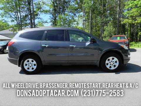 2012 Chevrolet Traverse for sale in Cadillac, MI