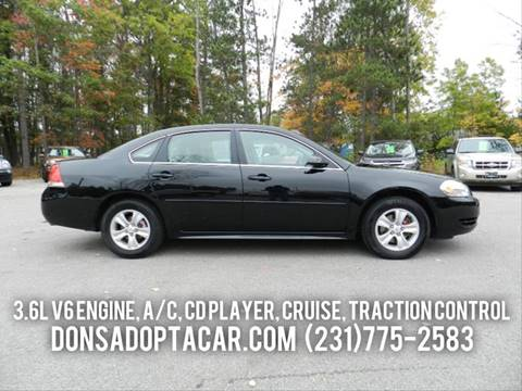 2012 Chevrolet Impala for sale in Cadillac, MI