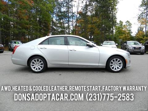 2014 Cadillac CTS for sale in Cadillac, MI