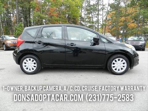 2016 Nissan Versa Note for sale in Cadillac, MI
