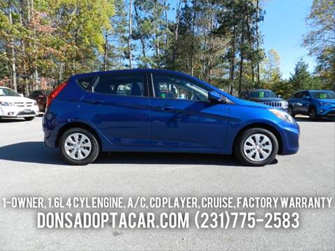 2016 Hyundai Accent for sale in Cadillac, MI