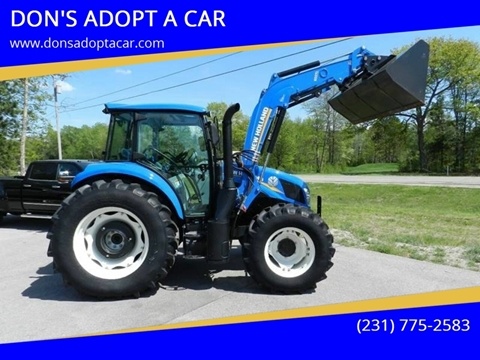 2015 New Holland T4.90 4X4 W/100 HRS for sale in Cadillac, MI