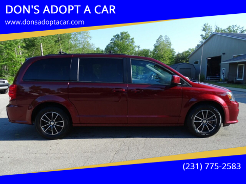 2019 Dodge Grand Caravan for sale at DON'S ADOPT A CAR in Cadillac MI