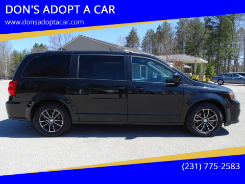 2018 Dodge Grand Caravan for sale at DON'S ADOPT A CAR in Cadillac MI