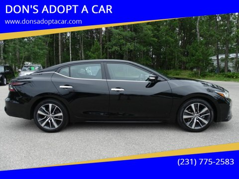 2019 Nissan Maxima for sale at DON'S ADOPT A CAR in Cadillac MI