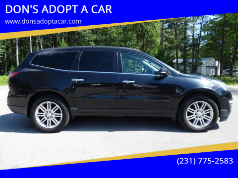2013 Chevrolet Traverse for sale at DON'S ADOPT A CAR in Cadillac MI
