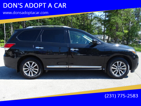 2016 Nissan Pathfinder for sale at DON'S ADOPT A CAR in Cadillac MI