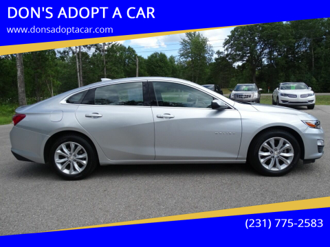 2020 Chevrolet Malibu for sale at DON'S ADOPT A CAR in Cadillac MI