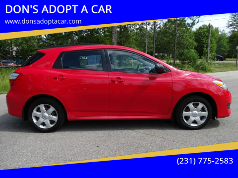 2009 Toyota Matrix for sale at DON'S ADOPT A CAR in Cadillac MI