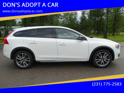 2018 Volvo V60 Cross Country for sale at DON'S ADOPT A CAR in Cadillac MI