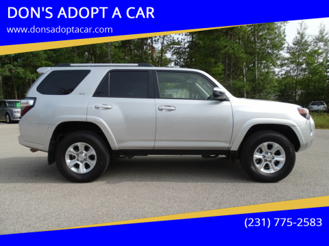 2019 Toyota 4Runner for sale at DON'S ADOPT A CAR in Cadillac MI