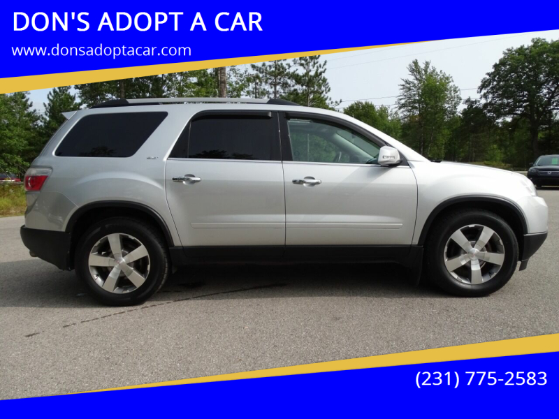 2011 GMC Acadia for sale at DON'S ADOPT A CAR in Cadillac MI