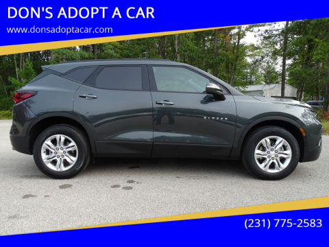 2020 Chevrolet Blazer for sale at DON'S ADOPT A CAR in Cadillac MI