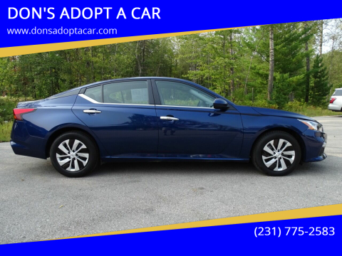 2019 Nissan Altima for sale at DON'S ADOPT A CAR in Cadillac MI