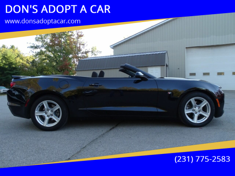 2020 Chevrolet Camaro for sale at DON'S ADOPT A CAR in Cadillac MI