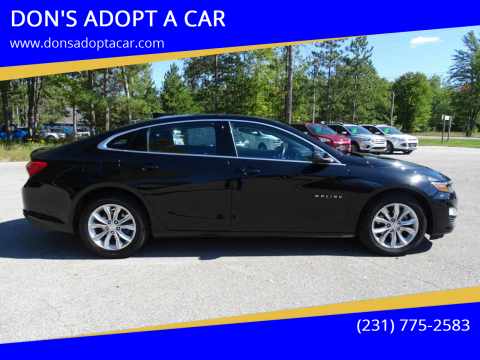 2019 Chevrolet Malibu for sale at DON'S ADOPT A CAR in Cadillac MI