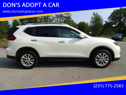 2017 Nissan Rogue for sale at DON'S ADOPT A CAR in Cadillac MI