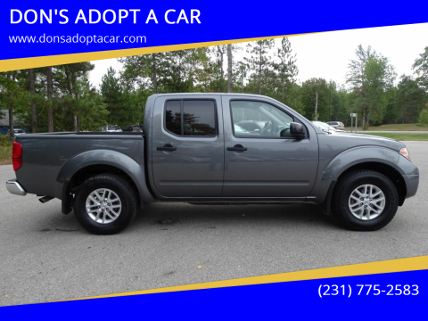 2019 Nissan Frontier for sale at DON'S ADOPT A CAR in Cadillac MI