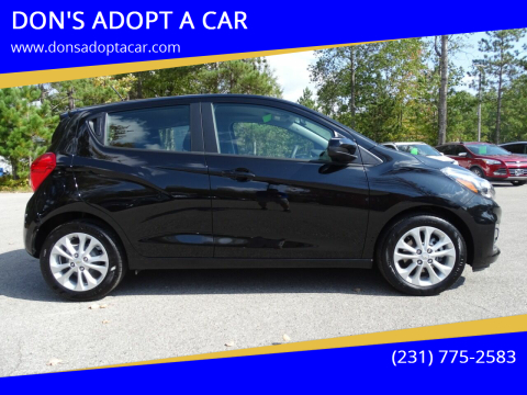 2020 Chevrolet Spark for sale at DON'S ADOPT A CAR in Cadillac MI