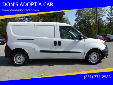 2016 RAM ProMaster City Cargo for sale at DON'S ADOPT A CAR in Cadillac MI