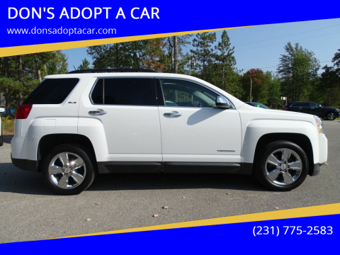 2015 GMC Terrain for sale at DON'S ADOPT A CAR in Cadillac MI
