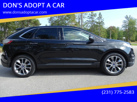 2015 Ford Edge for sale at DON'S ADOPT A CAR in Cadillac MI