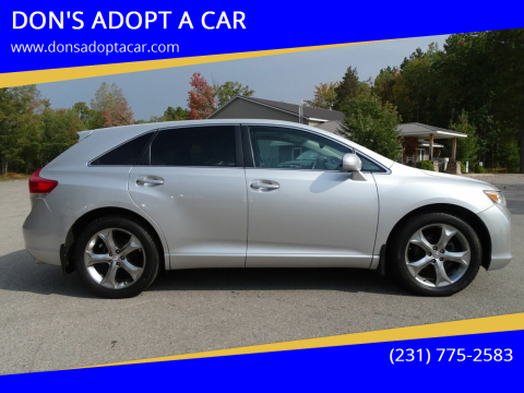 2010 Toyota Venza for sale at DON'S ADOPT A CAR in Cadillac MI