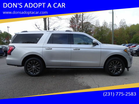 2019 Ford Expedition MAX for sale at DON'S ADOPT A CAR in Cadillac MI
