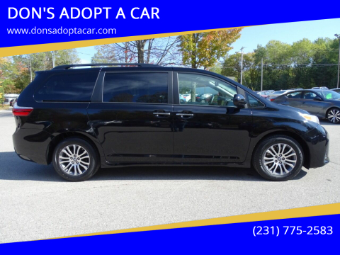 2019 Toyota Sienna for sale at DON'S ADOPT A CAR in Cadillac MI