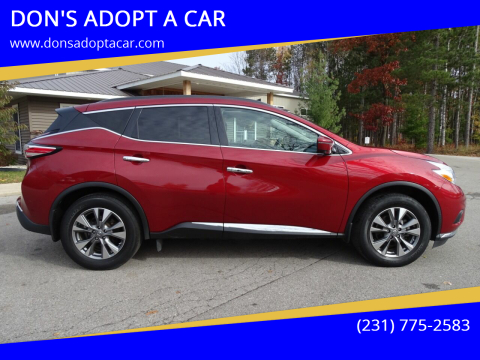 2017 Nissan Murano for sale at DON'S ADOPT A CAR in Cadillac MI