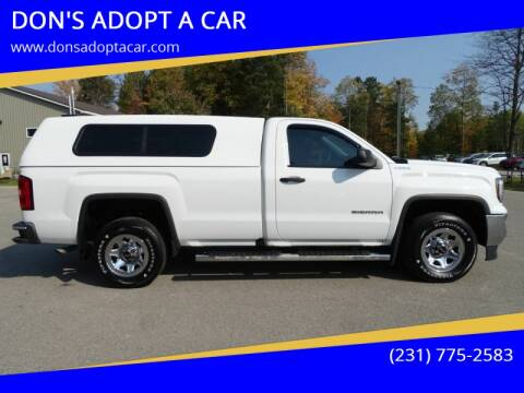 2017 GMC Sierra 1500 for sale at DON'S ADOPT A CAR in Cadillac MI