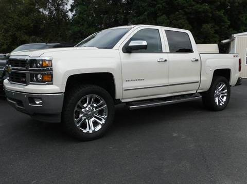 2014 Chevrolet Silverado 1500 for sale at Brown's Used Auto in Belmont NC